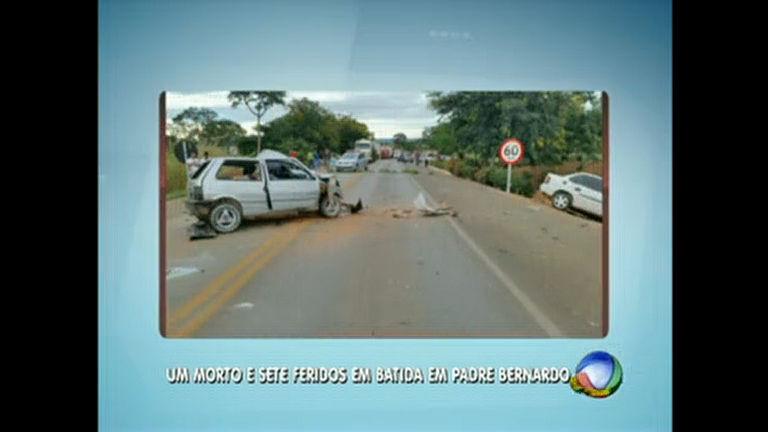 Acidente com morte na 080 perto de Padre Bernardo (GO) - Distrito ...