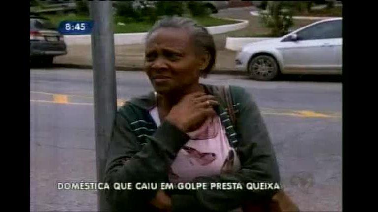 Doméstica que caiu em golpe presta queixa na Polícia Civil - Minas ...