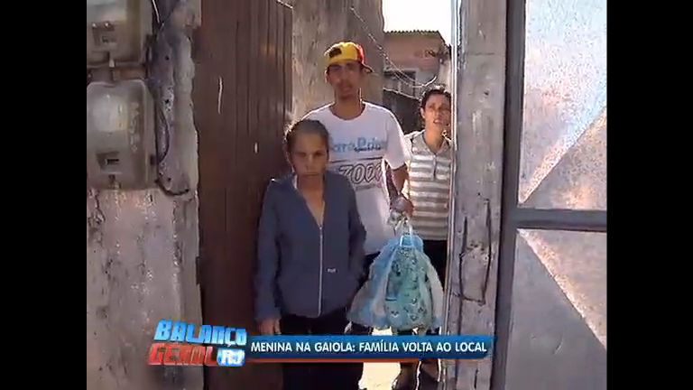 Família quer a guarda de menina trancada na gaiola pelo pai - Rio ...