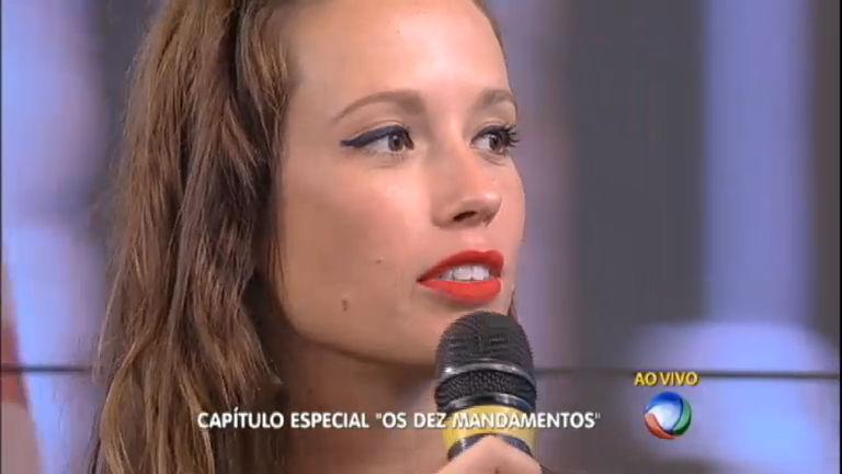 Atriz Juliana Didone fala sobre reviravolta em Os Dez Mandamentos ...