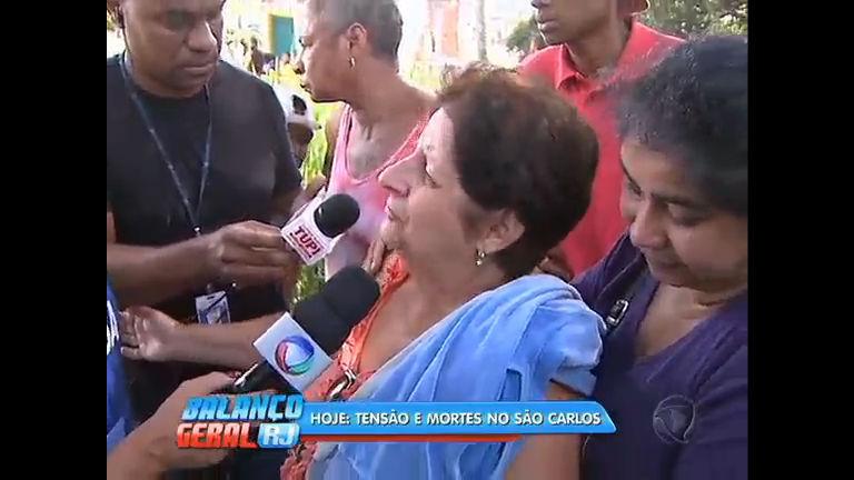 """""""Quem vai criar meu neto agora?"""", desabafa mãe de mototaxista morto no morro de São Carlos"""