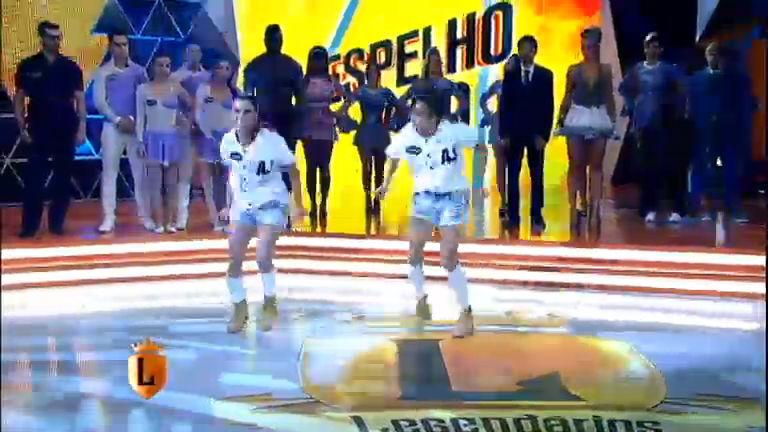 Espelho Vivo: veja a apresentação de dança de Daniela e Thamiris ...