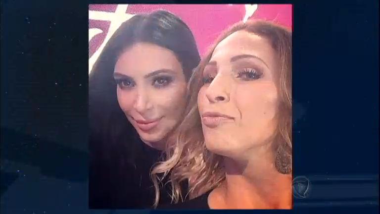 Bumbum pra mais de metro: Kim Kardashian e Valesca Popozuda ...
