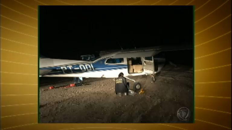 Polícia Federal apreende avião com mais de 350 kg de cocaína no Ceará