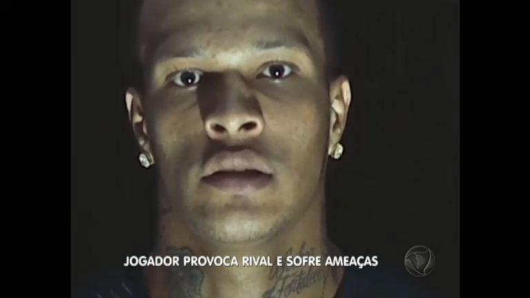Após vídeo provocativo, jogador do Figueirense é ameaçado de morte