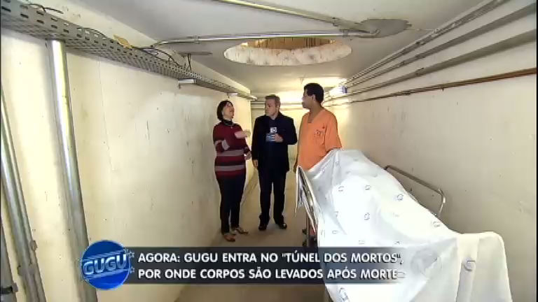 Gugu desvenda mistérios do Túnel dos Mortos