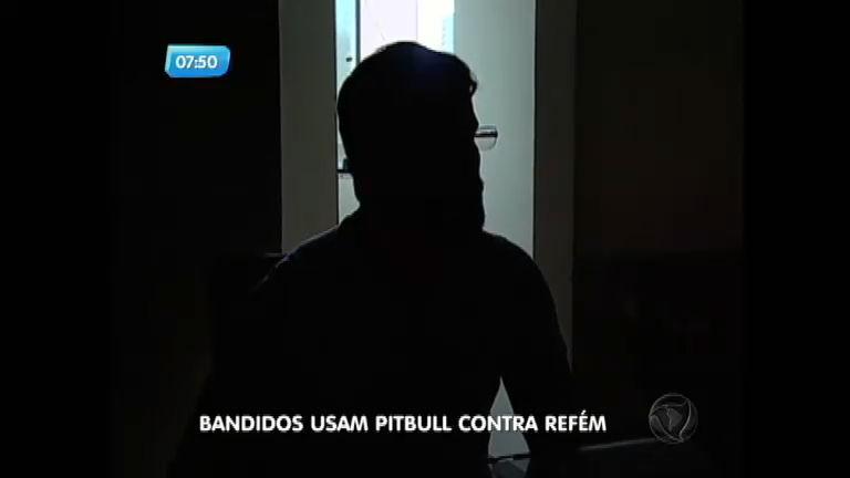 Bandidos usam pitbull para intimidar vítima de sequestro no interior ...