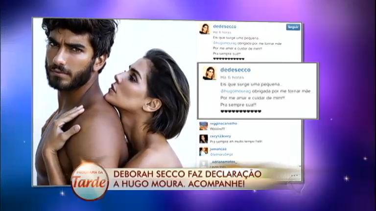 Deborah Secco se sente realizada com gravidez; veja o Diário das ...