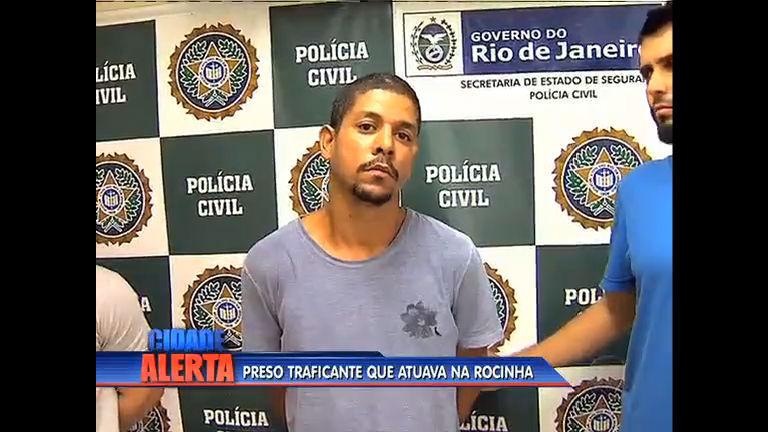 Traficante conhecido como Kengão é preso na Rocinha - Rio de ...