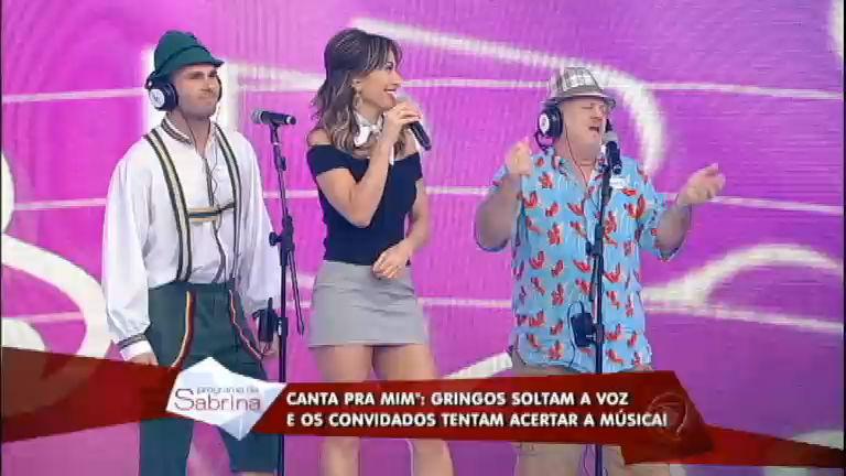 Canta Pra Mim: gringos gastam português e convidados tentam ...