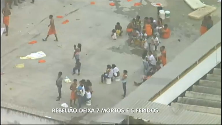 Rebelião em presídio de Feira de Santana (BA) deixa sete mortos