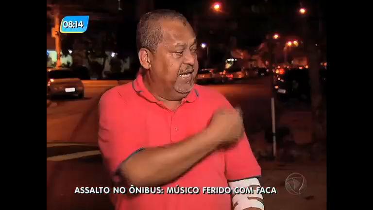 Músico é esfaqueado após assalto no centro do Rio