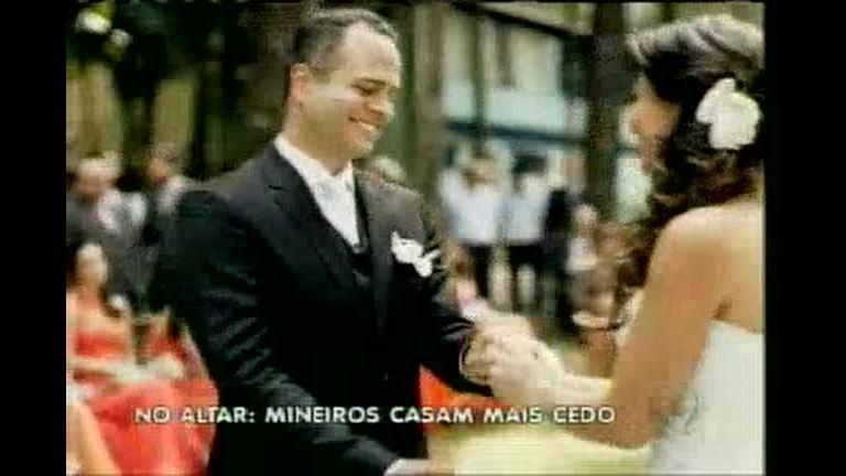 A hora do sim: mineiros casam mais cedo! - Rede Record