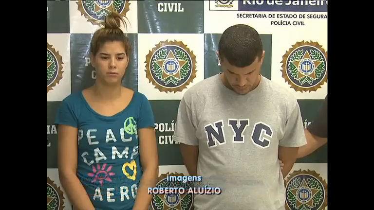 Casal é preso suspeito de tráfico de drogas na Rocinha, zona sul do ...