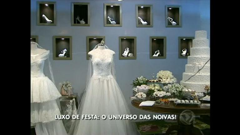 Luxo: festa apresenta novidades e tendências para casamentos