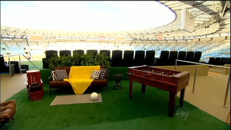Você sabia que o estádio do Maracanã tem suíte de luxo?