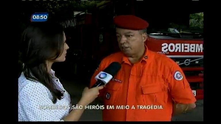 Bombeiros são heróis em meio a tragédia - Bahia - R7 Bahia no Ar