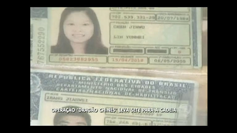 Grupo de chineses é preso durante operação contra pirataria no DF ...