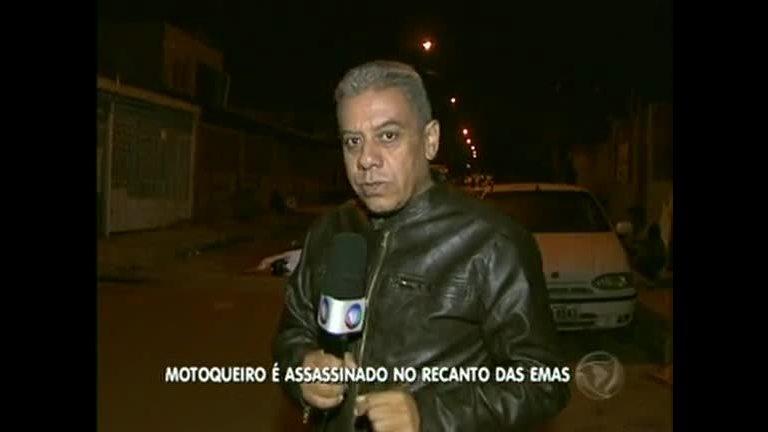 Motociclista é assassinado no Recanto das Emas