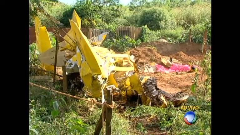 Piloto morre na queda de um avião monomotor em Minas Gerais