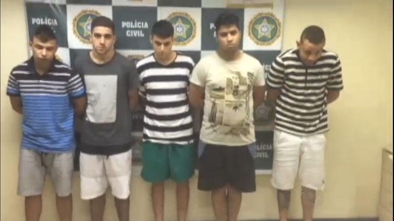 Quadrilha especializada em roubar chineses é presa no Rio de Janeiro