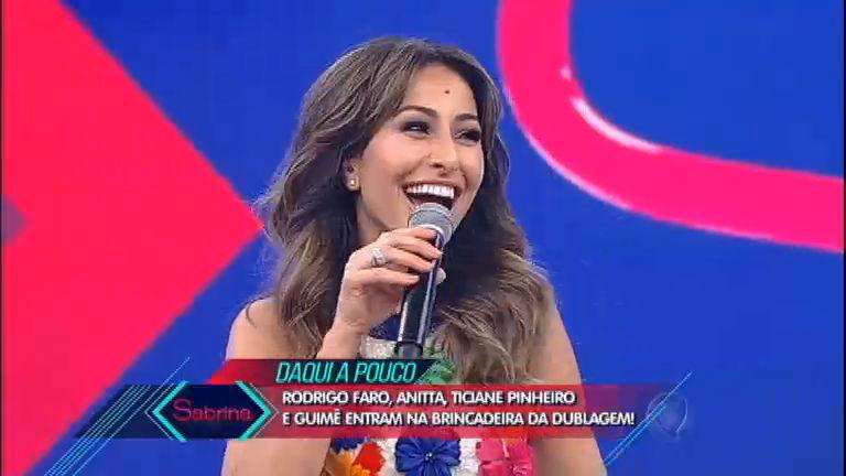 Rodrigo Faro quer arrumar namorado para Sabrina Sato ...
