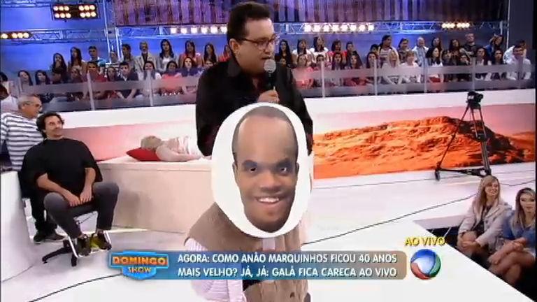 Anão Marquinhos passa por processo de envelhecimento ao ser ...