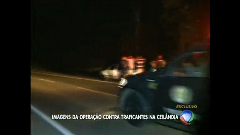 Polícia faz operação contra tráfico de drogas em Ceilândia - Rede ...