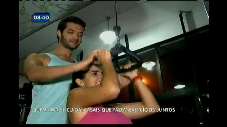 Quem ama se cuida: casais que fazem exercícios juntos - Bahia ...