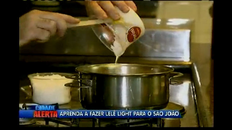 Aprenda a fazer lelê light para festas juninas - Bahia - R7 Cidade ...