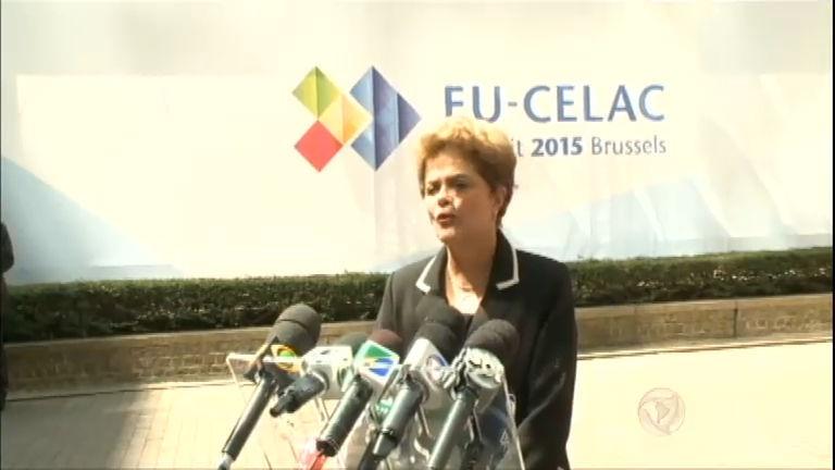 Presidente Dilma afirma que o Brasil precisa derrubar logo a inflação