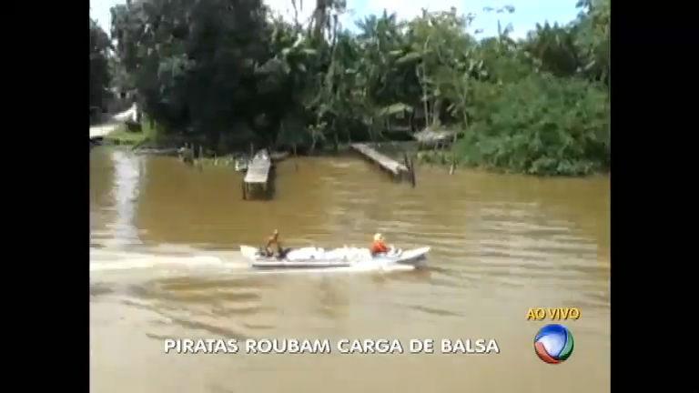 Piratas atacam balsa na divisa do Amapá com o Amazonas ...