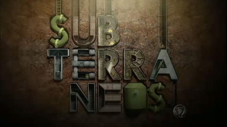 Série do Jornal da Record desvenda os segredos e perigos dos subterrâneos