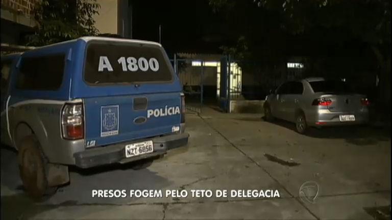 Presos fogem pelo teto de delegacia em Camaçari ( BA) - Notícias ...