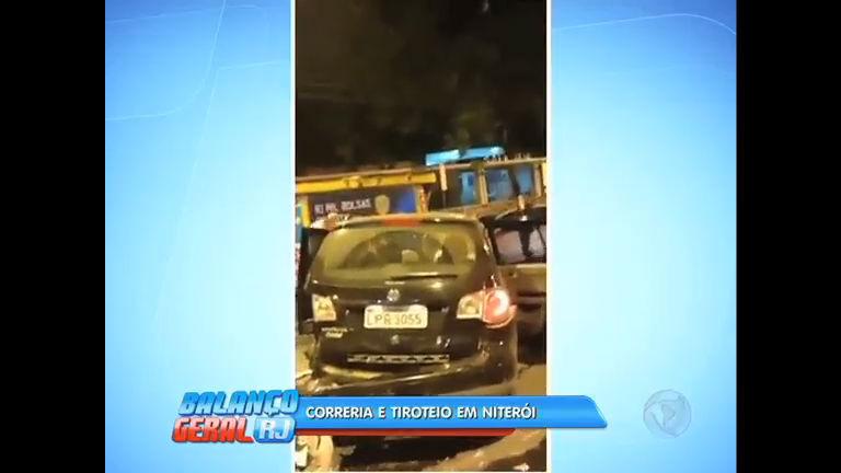 Quatro homens são presos após perseguição e troca de tiros em Niterói (RJ)
