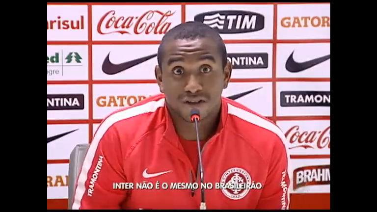 Inter não é o mesmo no Brasileirão