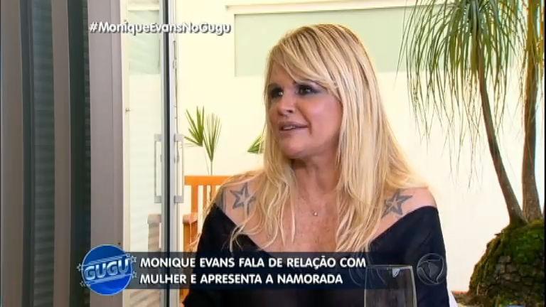 Monique Evans apresenta a namorada para Gugu em entrevista reveladora