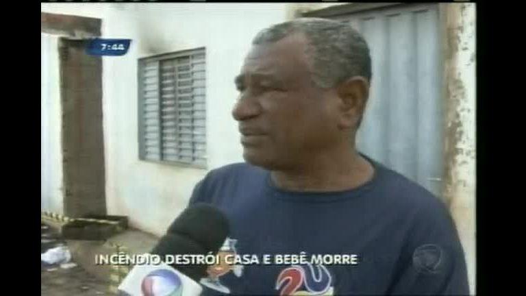 Criança morre durante incêndio em residência no norte de Minas