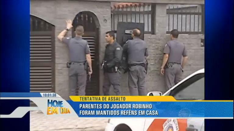 Notícias: familiares do jogador Robinho são feitos reféns no litoral ...
