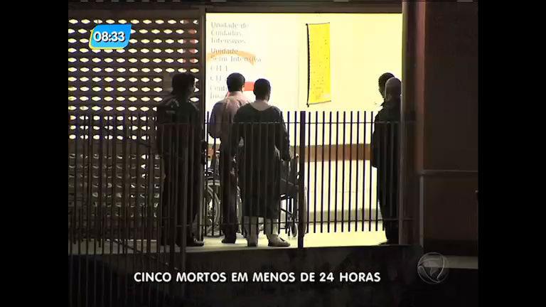 Cinco pessoas são mortas em menos de 24 horas, em São Gonçalo (RJ)