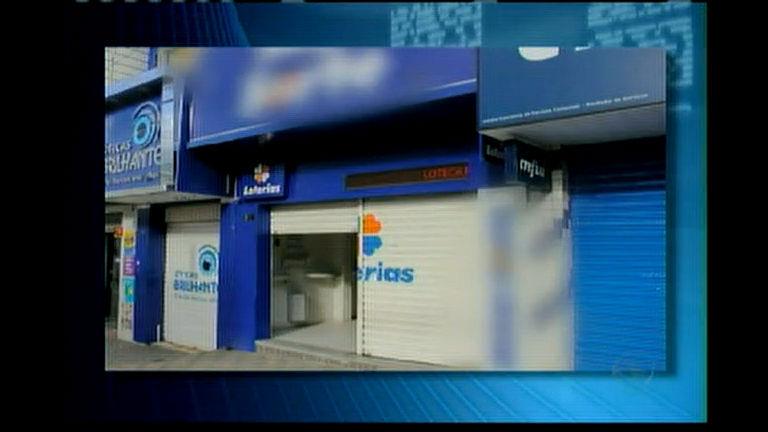 Ladrão invade lotérica pelo telhado e leva mais de R$ 35 mil reais
