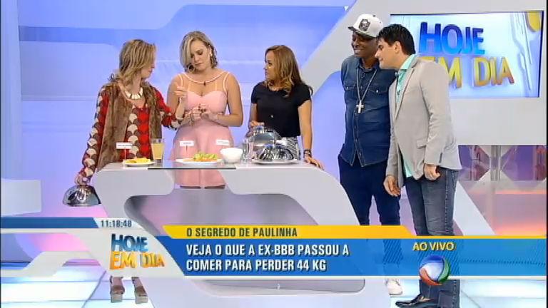 Ex-BBB Paulinha e MC Sapão contam como perderam cerca de 50 kg cada