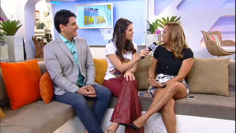 Intervalo: Renata Alves revela idolatria por Xuxa