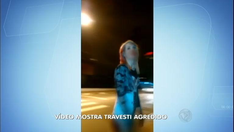 Vídeo flagra os últimos momentos do jovem travesti que foi ...