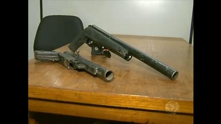 Polícia do DF já apreendeu 1.200 armas neste ano