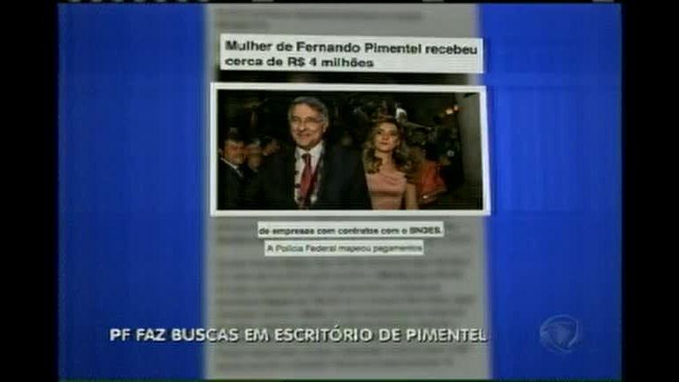 PF faz buscas em escritório de Fernando Pimentel
