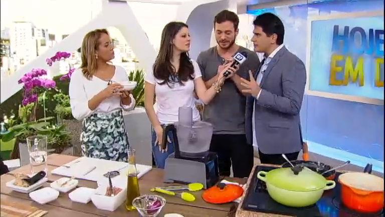 """""""É pra casar com a minha filha"""", brinca Cesar Filho sobre Dalton Rangel"""
