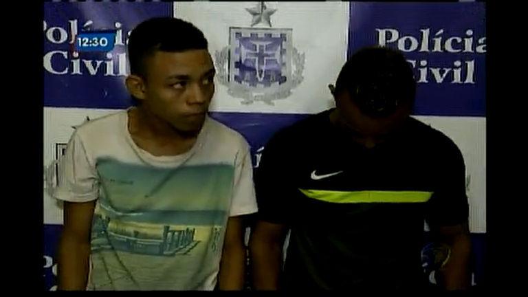 Policia prende dois homens acusados de roubar passageiros nos ônibus