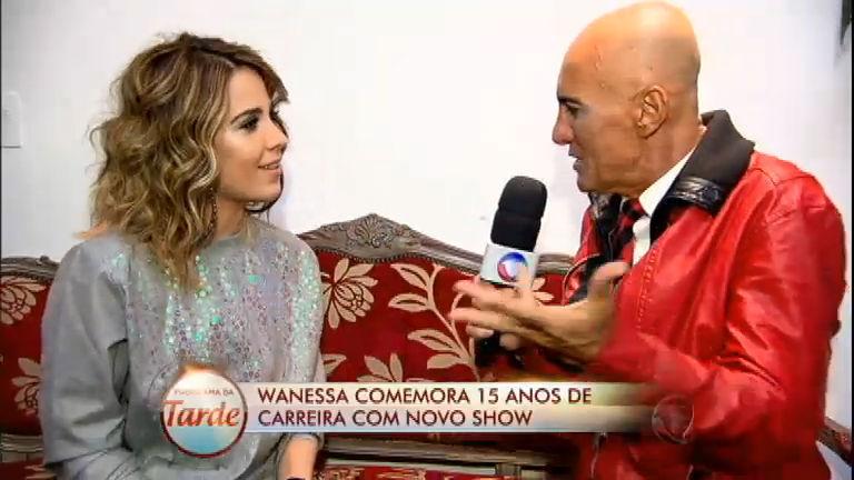 Diário das Celebridades: cantora Wanessa fala sobre os 15 anos da ...