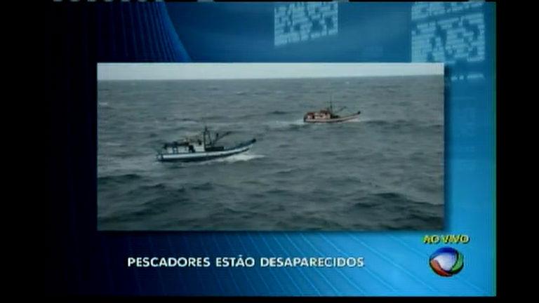 Pescadores estão desaparecidos